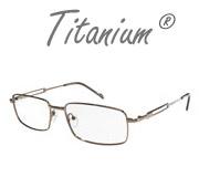 Gafas de titanio