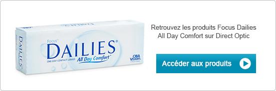 Lentilles de contact Proclear Focus Dailies All Day Comfort