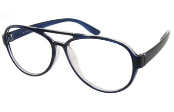 Photo de la monture de lunettes de vue Adventura bleu
