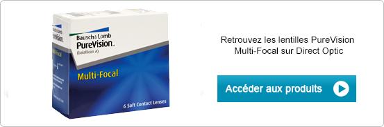 Lentilles de contact PureVision Multifocal