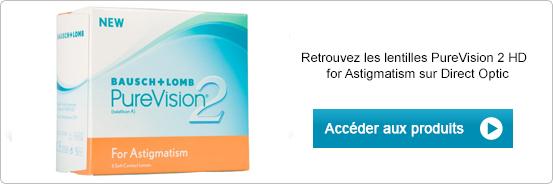 Lentilles de contact PureVision 2 HD for Astigmatism