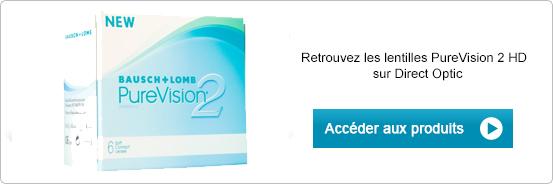 Lentilles de contact PureVision 2 HD