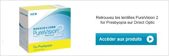 Lentilles de contact PureVision 2 for Presbyopia