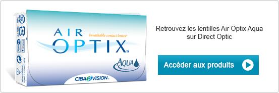 Lentilles de contact Air Optix Aqua