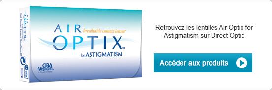 Lentilles de contact Air Optix for Astigmatism