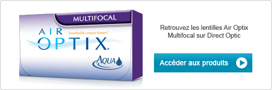 Lentilles de contact Air Optix Aqua Multifocal