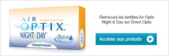 Lentilles de contact Air Optix Night & Day