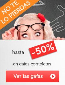gafas a pequenos precios