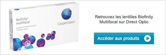 Lentilles de contact Biofinity Multifocal