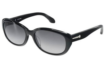 Photo de la monture de lunettes de soleil Calvin Klein 4152S 001 noir