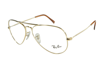 Ray-Ban Aviator 6049 2500 Or et brun