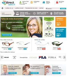 Site d'optique en ligne Direct optic