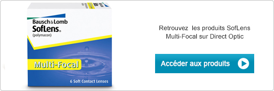 Lentilles de contact Soflens Multifocal