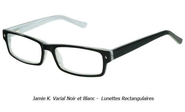 lunettes rectangulaires