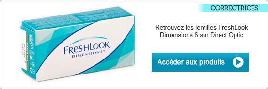 Lentilles de contact FreshLook Dimensions 6